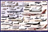 American Aviation - Modern Era (1946-2010) Art Print