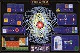 Atom Art Print