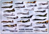 Modern Warplanes Art Print