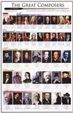 Great Composers Art Print