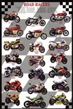 Road Racers Art Print