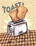Nifty Fifties - Toast Art Print