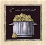 Soupe Aux Choux Art Print