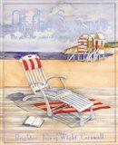 At The Seaside - Mini Art Print