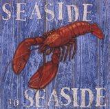 Coastal USA Lobster Art Print