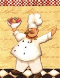 Le Chef Et Les Fruits - Mini Art Print