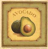 Avocado - mini Art Print