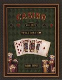 Texas Hold 'Em - mini Art Print