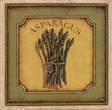 Asparagus - mini Art Print