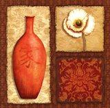 Oriental Collage III Art Print