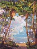 Path To Paradise I - petite Art Print