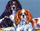 Bella & Bentley Art Print