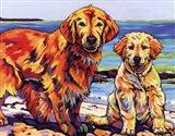 Ginger & Polar Art Print