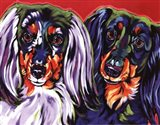 Holly & Libby Art Print