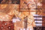 Sienna Rhythm Art Print