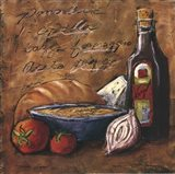 Rustic Kitchen II Art Print