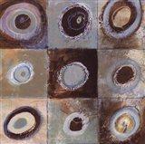 Abstract Earth I - mini Art Print
