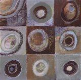 Abstract Earth II - mini Art Print