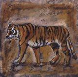 Safari Tiger Art Print