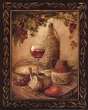 Tuscan Table - Chianti - Mini Art Print