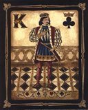 Harlequin King - Mini Art Print