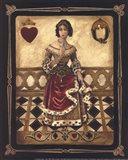 Harlequin Queen - Mini Art Print