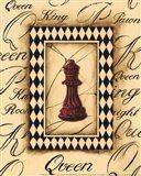 Chess Queen - Mini Art Print