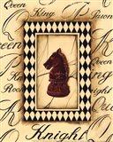 Chess Knight - Mini Art Print
