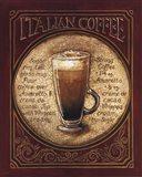 Italian Coffee Art Print