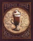 French Coffee Art Print