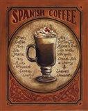 Spanish Coffee - Mini Art Print