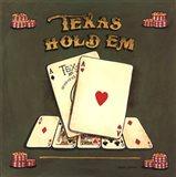 Texas Hold Em Art Print