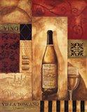 Villa Toscano Art Print
