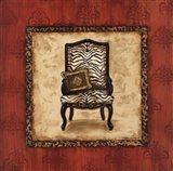 Parlor Chair II - mini Art Print