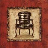 Parlor Chair IV - mini Art Print