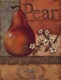 Pear Crate - mini Art Print
