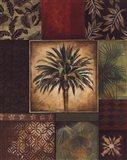 Palm Collage I Art Print