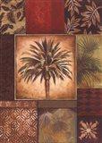 Palm Collage I - petite Art Print