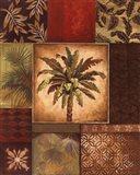 Palm Collage II - petite Art Print