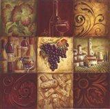 Tuscan Wine II - mini Art Print