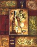 Valley Wine I Art Print