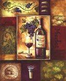 Valley Wine II Art Print