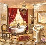 Persian Bath Art Print