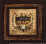 Golf Royal - petite Art Print