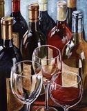 Wine Reflections I - mini Art Print