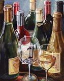 Wine Reflections II - mini Art Print