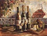 Bountiful Wine I Art Print