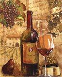 Wine Collage I - mini Art Print