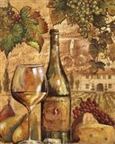 Wine Collage II - mini Art Print