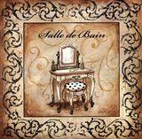 Classic Salle De Bain Art Print